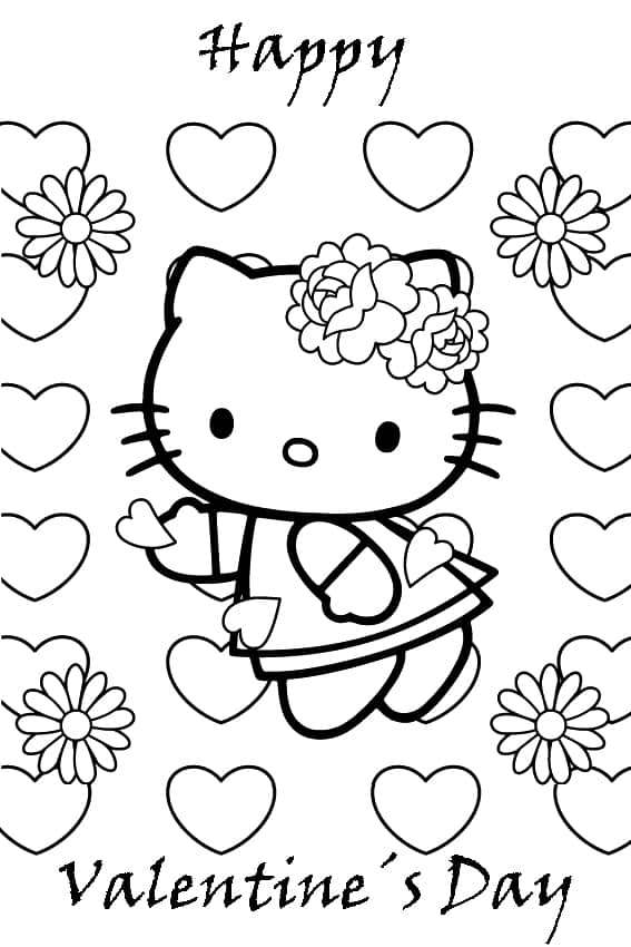 valentine s day coloring pages printable coloring cottage ...