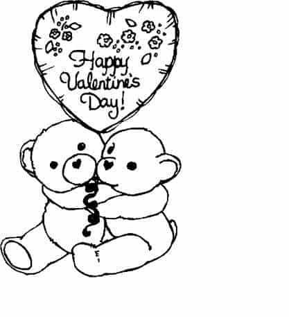 boyfriend coloring pages | Happy Valentines Day Pages For Boyfriend Coloring Pages