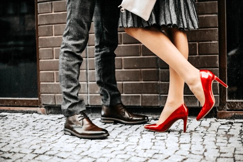 Kiss a Tall Guy - high heels